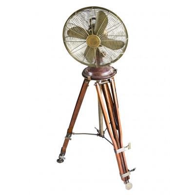 Fan Brass/Wood