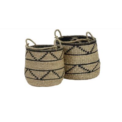 Set 2 Seagrass Baskets