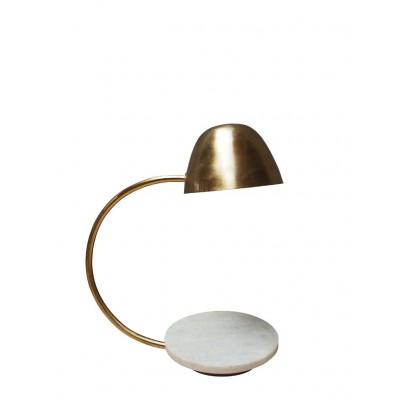 Metal/Marble Table Lamp