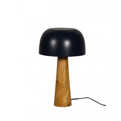 Mango Wood/Iron Table Lamp