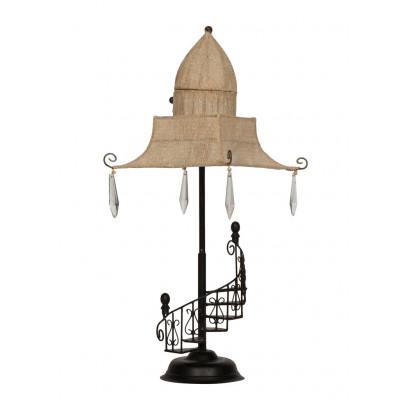Iron/Cotton Table Lamp