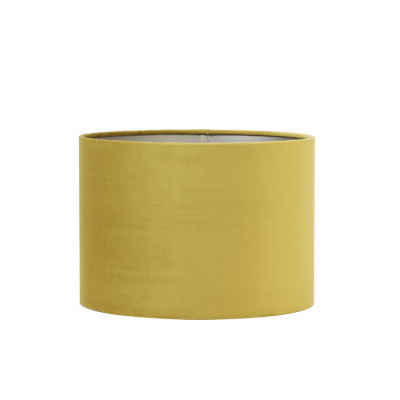 Lamp Shade Gold Velvet