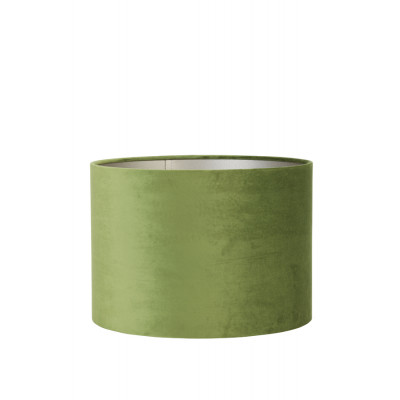 Lamp Shade Olive Green Velvet