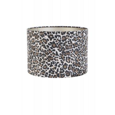 Lamp Shade Leopard Fabric