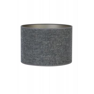 Lamp Shade Steel Blue Fabric