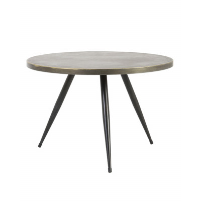 Round Metal Side Table